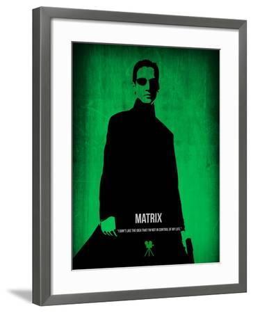 The Matrix Neo-NaxArt-Framed Art Print