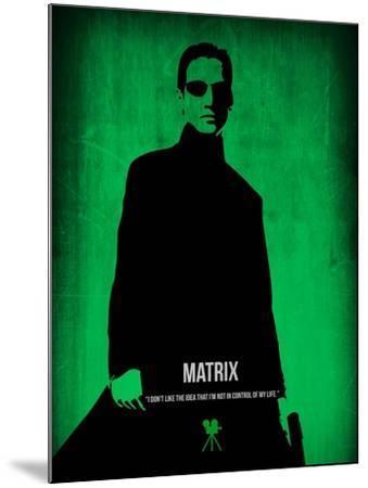 The Matrix Neo-NaxArt-Mounted Art Print