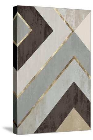 Golden Lines II-PI Studio-Stretched Canvas Print