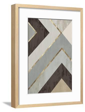 Golden Lines II-PI Studio-Framed Premium Giclee Print