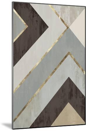Golden Lines II-PI Studio-Mounted Premium Giclee Print
