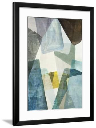 Blue Geometric II-PI Studio-Framed Art Print