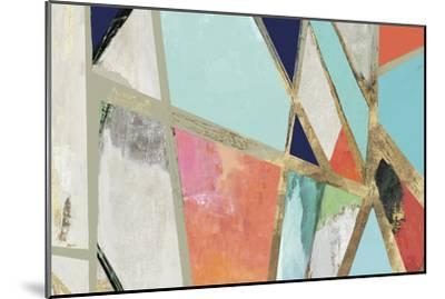 Warm Geometric II-PI Studio-Mounted Premium Giclee Print