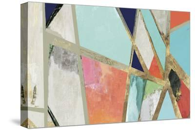 Warm Geometric II-PI Studio-Stretched Canvas Print