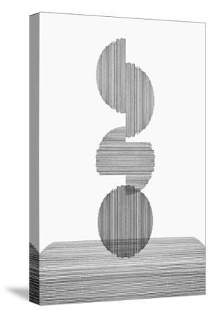 Gray on Gray III-PI Studio-Stretched Canvas Print
