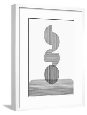 Gray on Gray III-PI Studio-Framed Premium Giclee Print