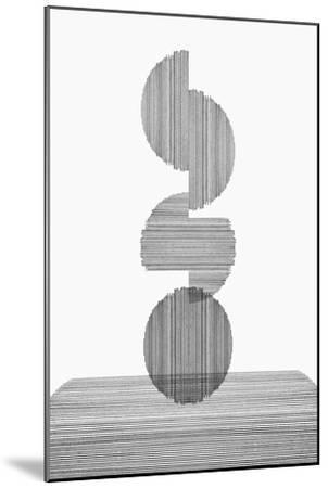 Gray on Gray III-PI Studio-Mounted Premium Giclee Print