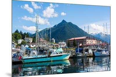 Sitka, Alaska, USA-Mark A Johnson-Mounted Photographic Print