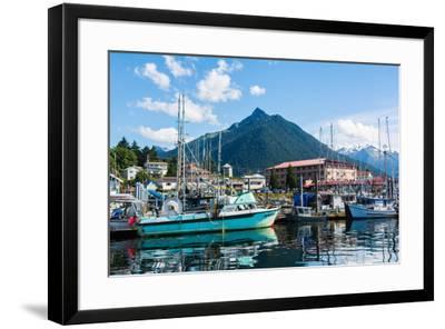 Sitka, Alaska, USA-Mark A Johnson-Framed Photographic Print
