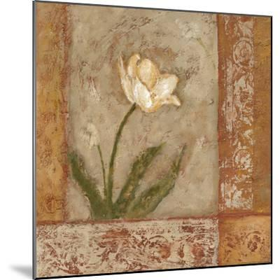 Morning Floral I-Bagnato Judi-Mounted Art Print