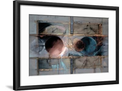 Abstract XII-Dean Bruce-Framed Art Print