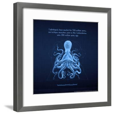 Octoprint II--Framed Art Print