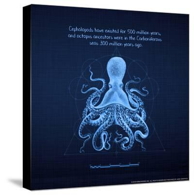Octoprint II--Stretched Canvas Print