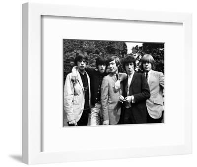 Rolling Stones, 1964-Associated Newspapers-Framed Photo