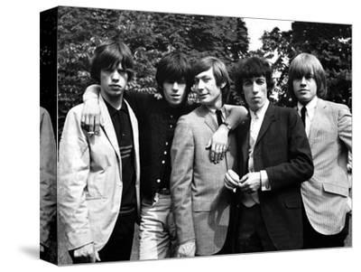 Rolling Stones, 1964-Associated Newspapers-Stretched Canvas Print