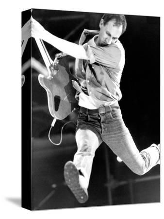Pete Townshend of the Who-Associated Newspapers-Stretched Canvas Print