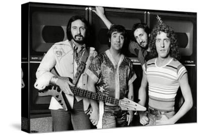 The Who, 1977-Associated Newspapers-Stretched Canvas Print