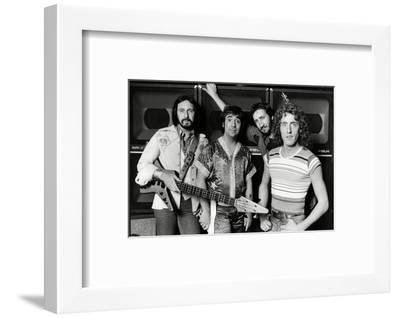 The Who, 1977-Associated Newspapers-Framed Photo
