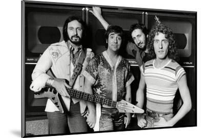 The Who, 1977-Associated Newspapers-Mounted Photo