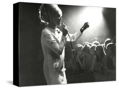 Dusty Springfield in the Light-Associated Newspapers-Stretched Canvas Print