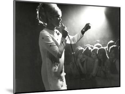 Dusty Springfield in the Light-Associated Newspapers-Mounted Photo