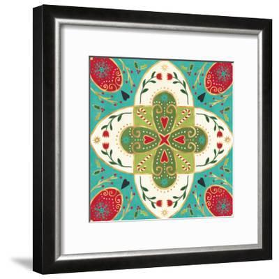 Otomi Holiday XII-Veronique Charron-Framed Art Print