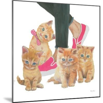 Cutie Kitties I-Emily Adams-Mounted Art Print