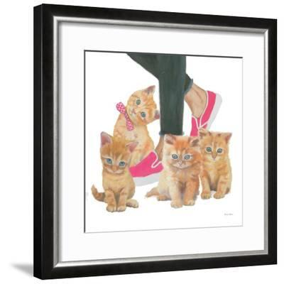 Cutie Kitties I-Emily Adams-Framed Art Print