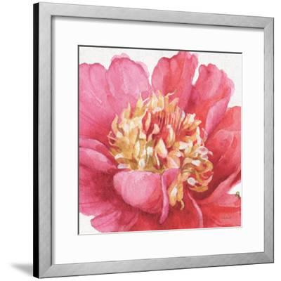 Pink Garden V-Lisa Audit-Framed Art Print