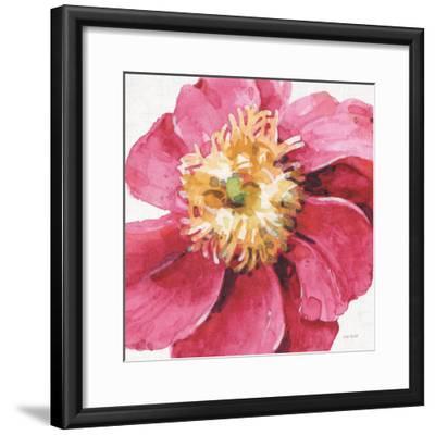 Pink Garden VI-Lisa Audit-Framed Art Print