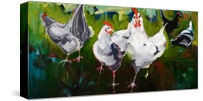 What the Cluck-Stephanie Aguilar-Stretched Canvas Print