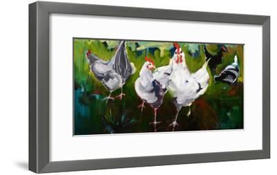 What the Cluck-Stephanie Aguilar-Framed Art Print