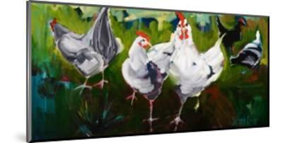 What the Cluck-Stephanie Aguilar-Mounted Art Print