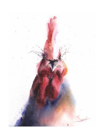 Chicken-Eric Sweet-Framed Art Print