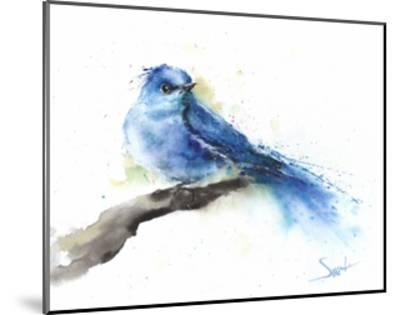 Bluebird-Eric Sweet-Mounted Art Print