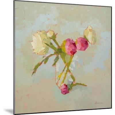 Peonies in Glass-Carol Maguire-Mounted Art Print