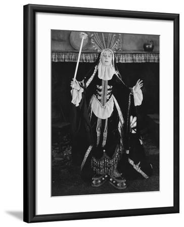 Casting a Spell--Framed Photo