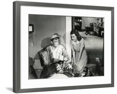 Accident Prone--Framed Photo