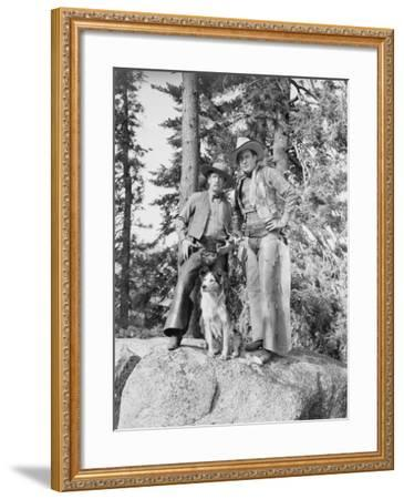 Advanced Scouts--Framed Photo