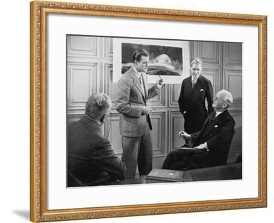 Convincing Investors--Framed Photo