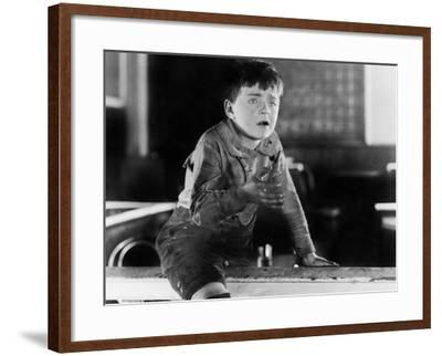Boy with Dirty Hands Crying--Framed Photo