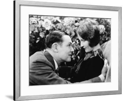 Couple Looking at Each Other Lovingly--Framed Photo
