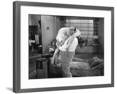 Covering Up Scandal--Framed Photo