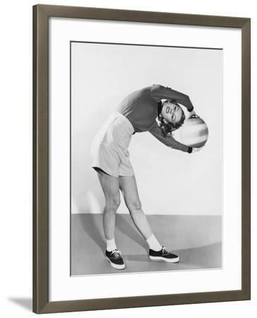 Its a Real Stretch--Framed Photo