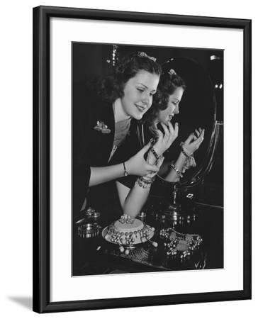 Jewelry Fanatic--Framed Photo