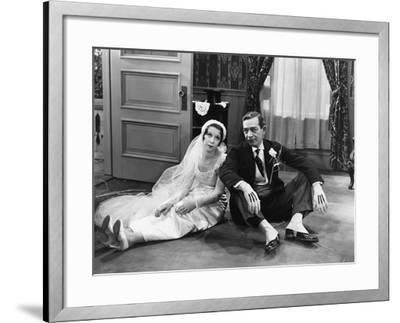 Honeymoon's Over--Framed Photo