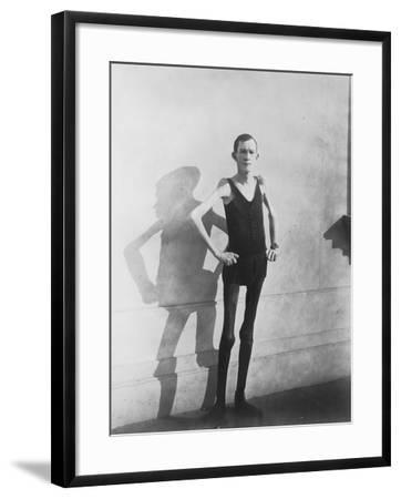 Human Skeleton--Framed Photo