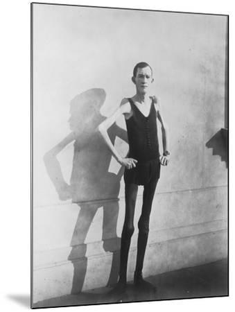 Human Skeleton--Mounted Photo