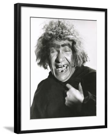 Laughing Monster--Framed Photo