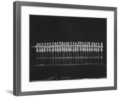 The Show Must Go On--Framed Photo